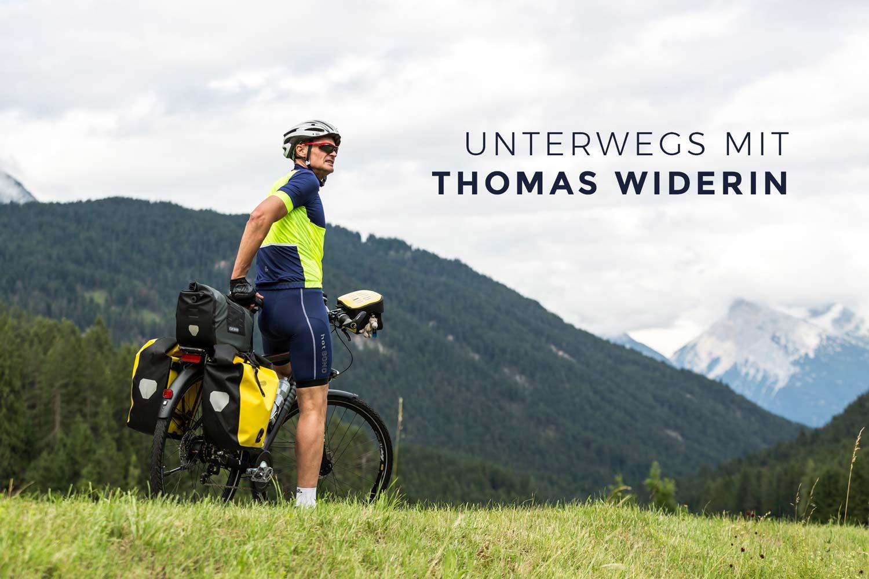 Unterwegs mit Thomas Widerin – Mit dem Fahrrad um die Welt