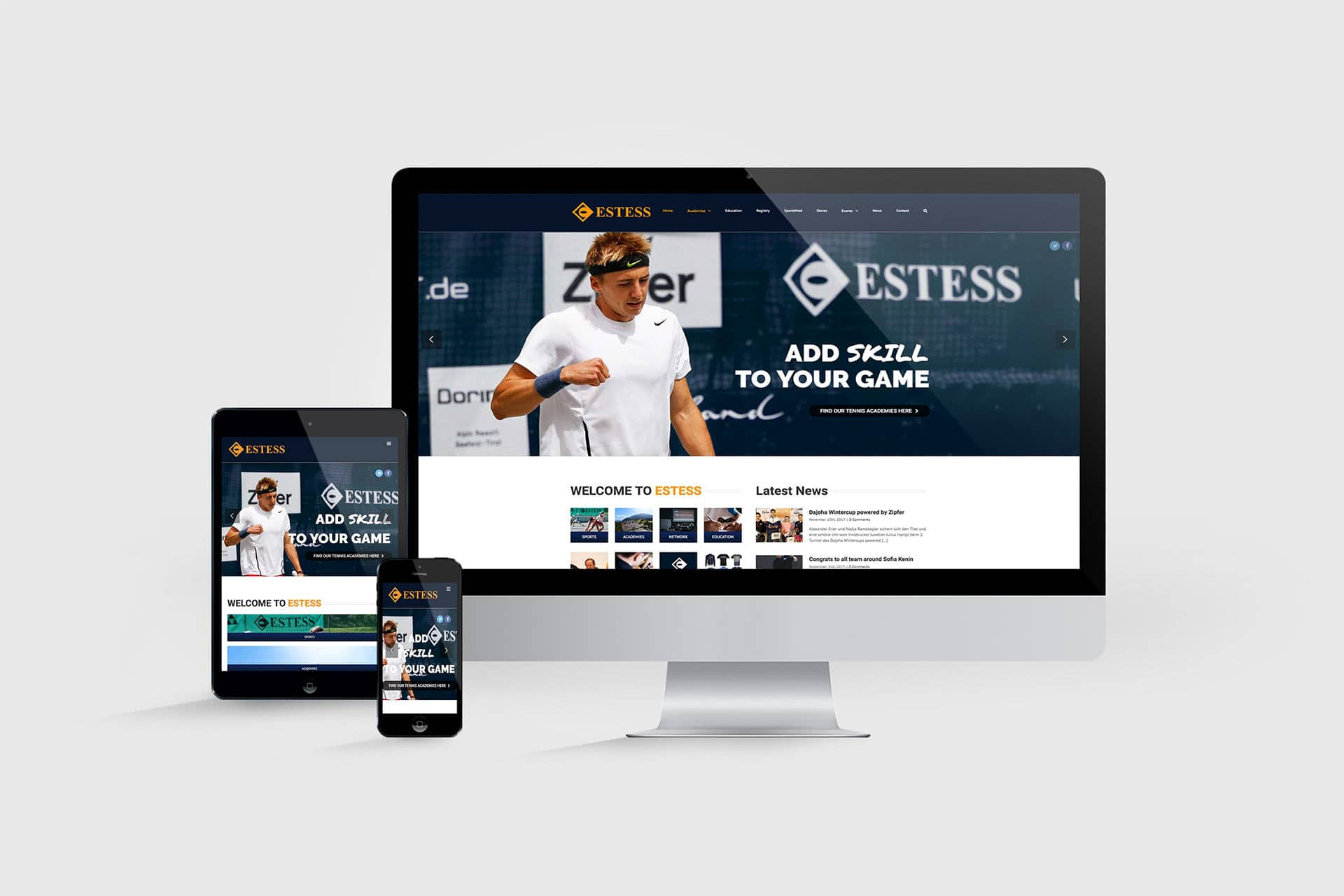 estess-website-mockup