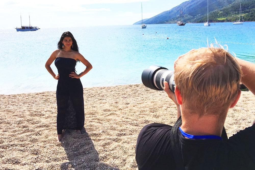 Ana Karla Suarez - Behind the Scenes